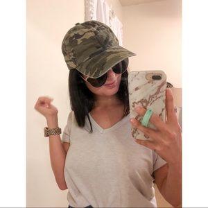 Women's casual Fashionable Camo Hat